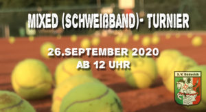 Mixed Turnier 26. September 2020
