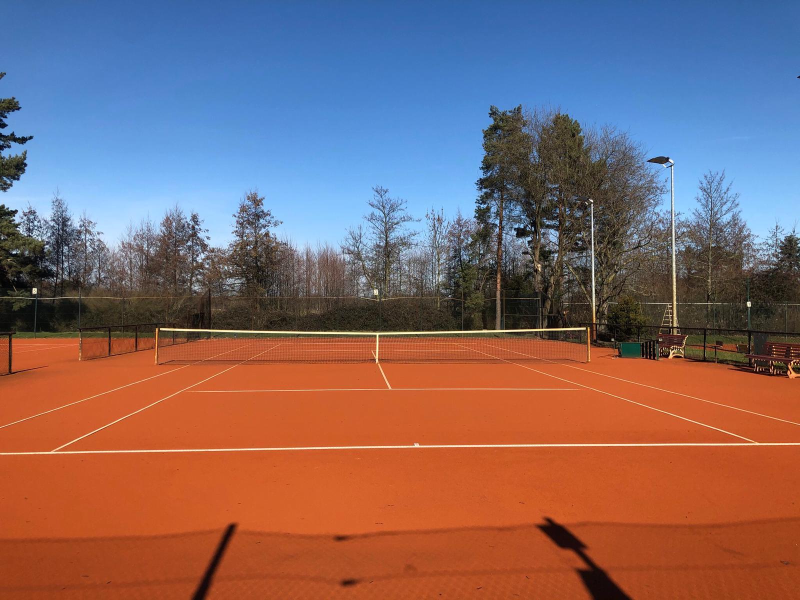 Tennisplätze Februar 2021